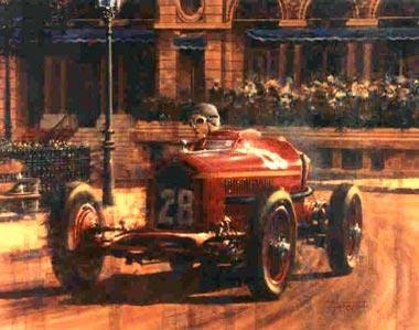 Grand Prix Racing >> Original Paintings - Motor Racing Art